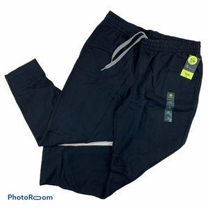 Xersion men's Black Slim Sweatpants Sweats XL NWT